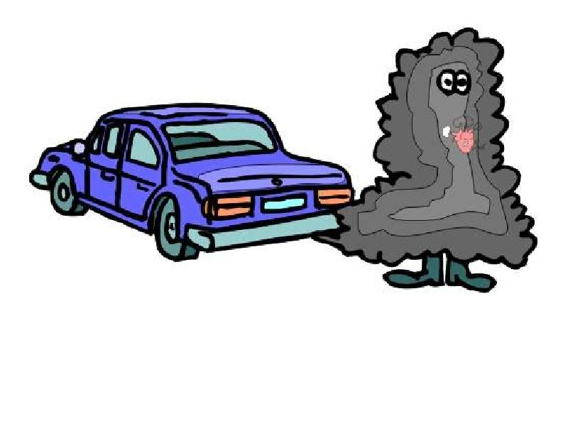 air pollution your car is to