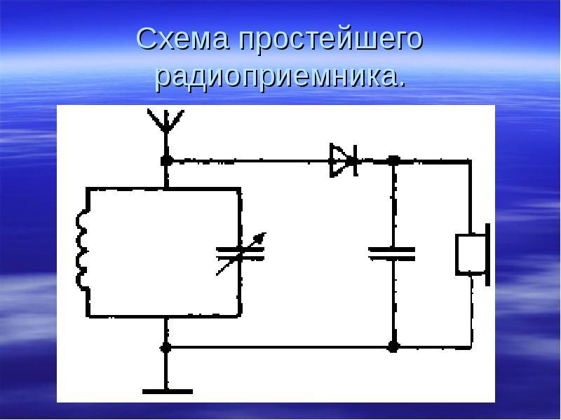 простейшие схемы fm радиоприемников