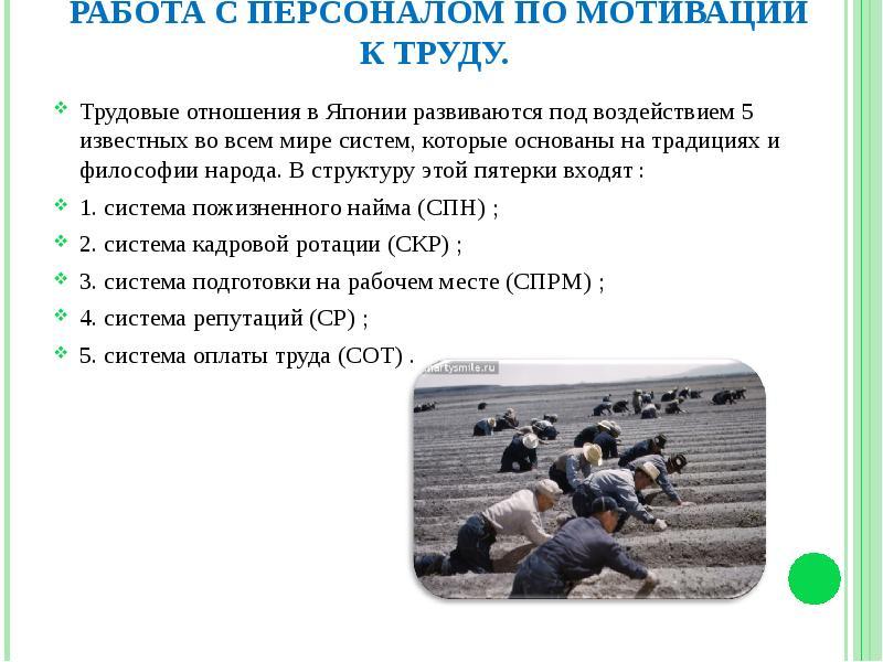 Японская концепция мотивации | Мотивация труда | pragmatist.ru