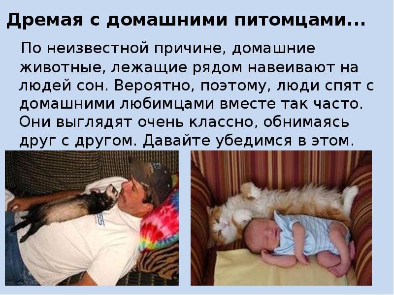 Значение сна обнимать