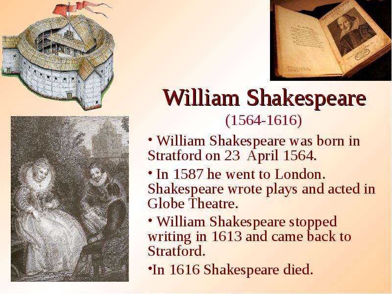 a biography of william shakespeare born in 1564 William shakespeare biography describes the life of william shakespeare from birth to death, shakespeare william was born in 1564.