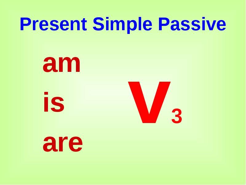 Exercises on Passive Voice Default Grammar