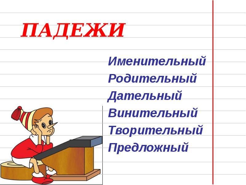 теме знакомство падежами презентация по с