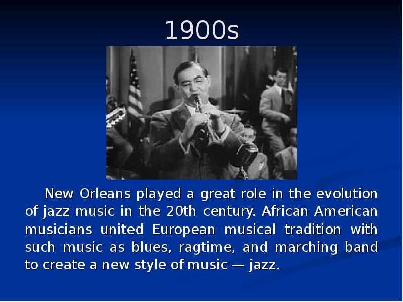 the evolution of jazz music in america Jazz is america's indigenous art form, having its birth and evolution in the united states in 1987 the joint houses of congress passed a resolution declaring jazz.