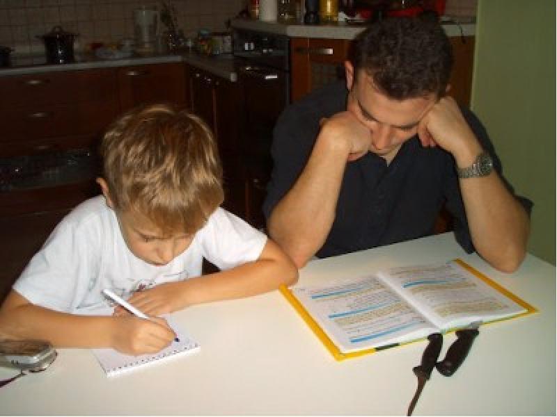 Статусы про домашние задания с детьми