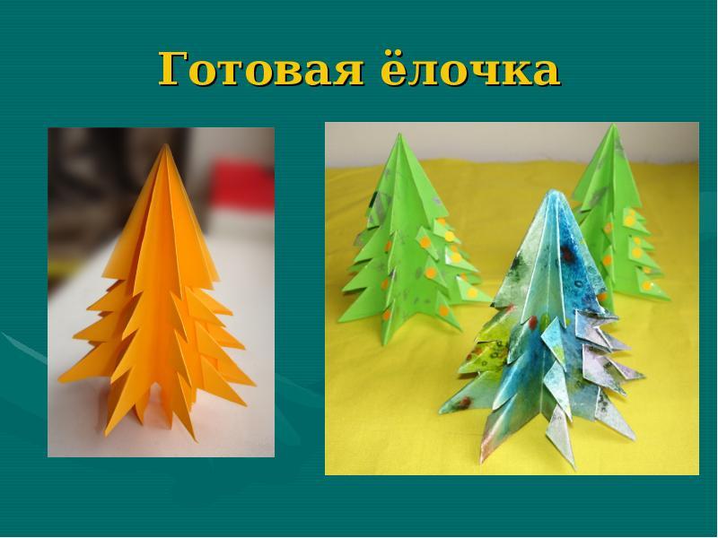 Презентация новогодние поделки из бумаги 4 класс