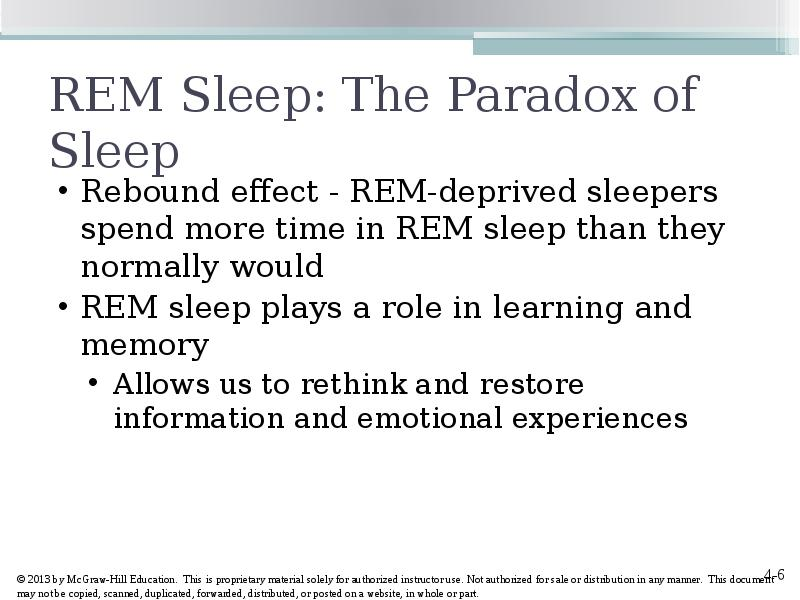 the role of sleep in learning Imaging and behavioral studies continue to show the critical role sleep plays in learning and memory researchers believe that sleep affects learning and memory in two ways.
