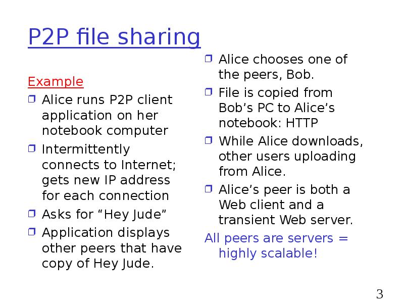 p2 p file sharing essay How peer-to-peer file-sharing clients work once you have downloaded and installed a p2p client, if you are connected to the internet you can launch the utility and you are then logged into a central indexing server.