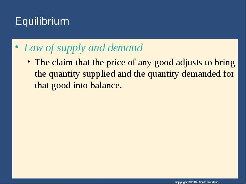 law of supply and demand Get sermon ideas from steve wagers by god's law of supply and demand download free sermons, preaching outlines and illustrations.