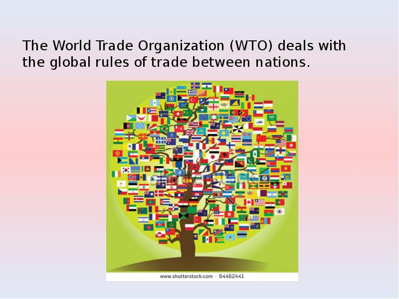 disadvantages of world trade organization wto The world trade organisation (wto) is a multi-lateral organisation based in geneva, switzerland countries that join the wto are required to achieve sustained reductions in average import tariffs after wto entry in july 2012 russia's average import tariffs will decline from 94% to 64% on.