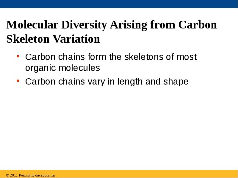 outline of carbon and molecular diversity Short tutorial for my ap bio/ biology olympiad students goes w/chapter 4 of our book.