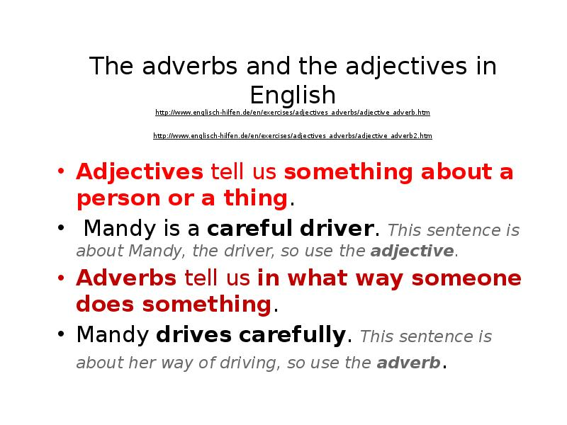 the role of adverbs and adjectives If the verb phrase puts on the costume of a noun, adjective or adverb and plays the role of how to identify the subject of a sentence 7:44, verb tense & subject-verb.