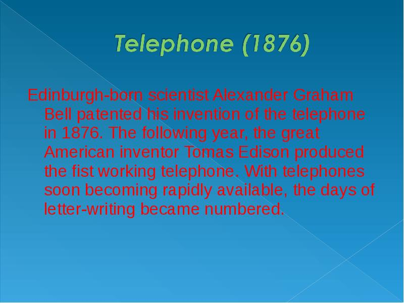 a description of home technology patented in england in 1775 invented by one thomas crapper It's not clear who invented it but they say that it's invented by john harington a courier of queen elizabeth of england in the 16th century in 1775 alexander patented his improved version on the flushing-mechanism.