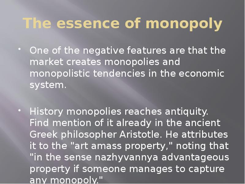 an analysis of monopolistic tendencies in microsoft