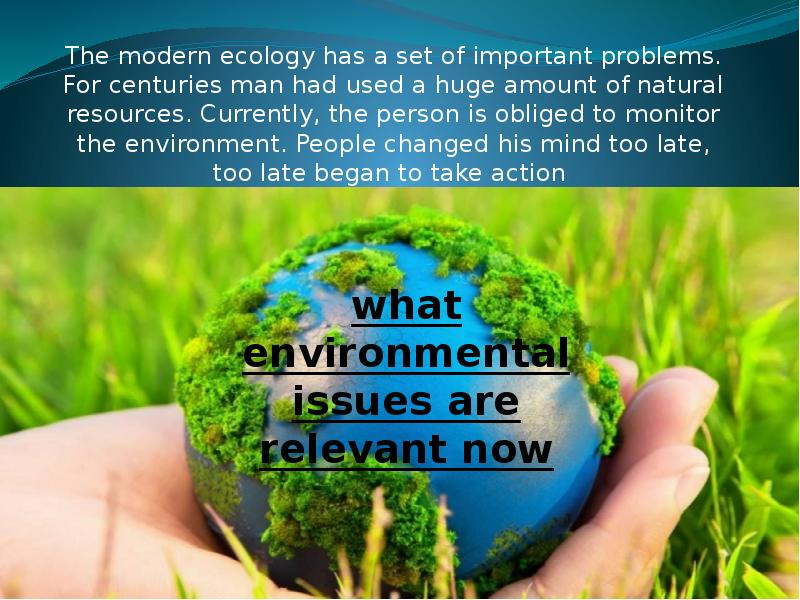 the environment what are the issues Information on the environment for those involved in developing, adopting, implementing and evaluating environmental policy, and also the general public do something for our planet, print this page only if needed even a small action can make an enormous difference when millions of people do it.