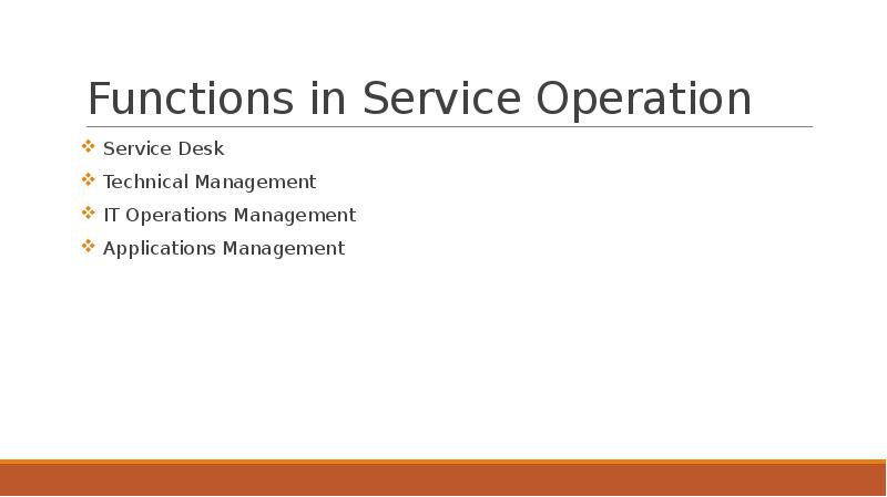 four functions of management application It operations management is a functional team of people responsible for day-to-day maintenance and management of organization's it infrastructure to ensure delivery of the agreed level of it services to the business (itil ® service operation, 65.