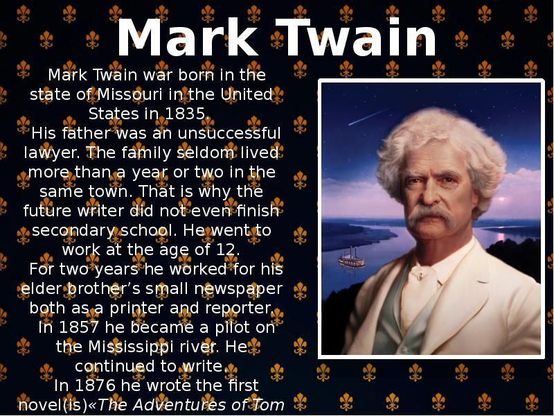 mark twain novels by plot essay