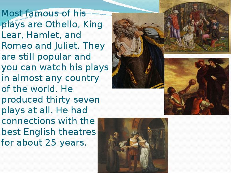 a comparison of king lear and hamlet two plays by william shakespeare A comparison of shakespeare's plays macbeth and othello pages 2 words 1,062 view full essay more essays like this: othello, macbeth not sure what i'd do without.