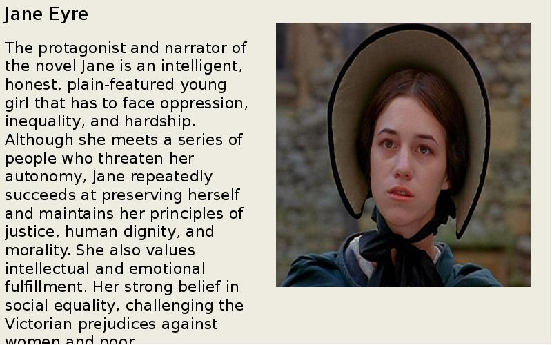 the differences between the novel and the movie jane eyre Fortunately, with this film version of jane eyre, the comparisons were mainly favorable the film was done by focus films, which also did the adaptation of pride and prejudice starring keira knightley.