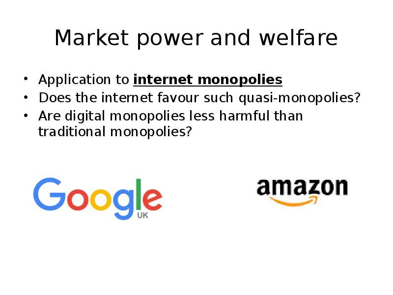 an analysis of monopolies harmful