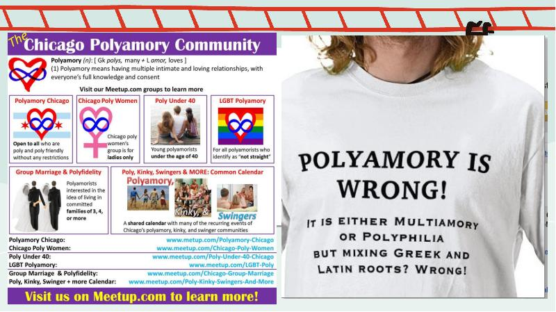understanding the concept of polyamory and the perspectives of polyamorous individuals Polyamorous and monogamous relationships monogamy generally comes about when two individuals monogamous relationship monogamy polyamorous relationship polyamory.