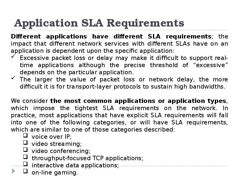 application level requirements Text does not specifically address application level requirements please think of these requirements as what the program must perform in order to meet its intended function.