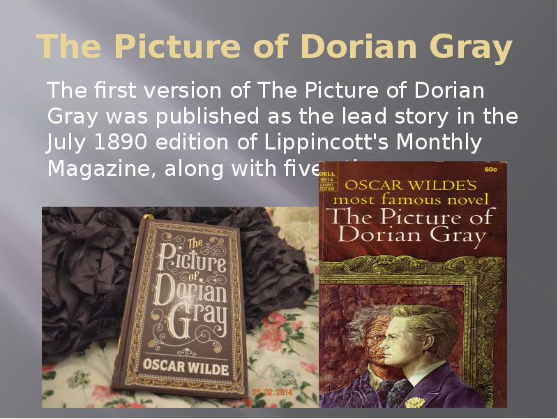 the portrait of dorian gray literature intensive essay 'dorian gray is enraptured by personae, by masks, and not by persons' aestheticism and art - wilde 1890 'if a man sees the aesthetic beauty of a thing, he will probably care very little for its ethical import.