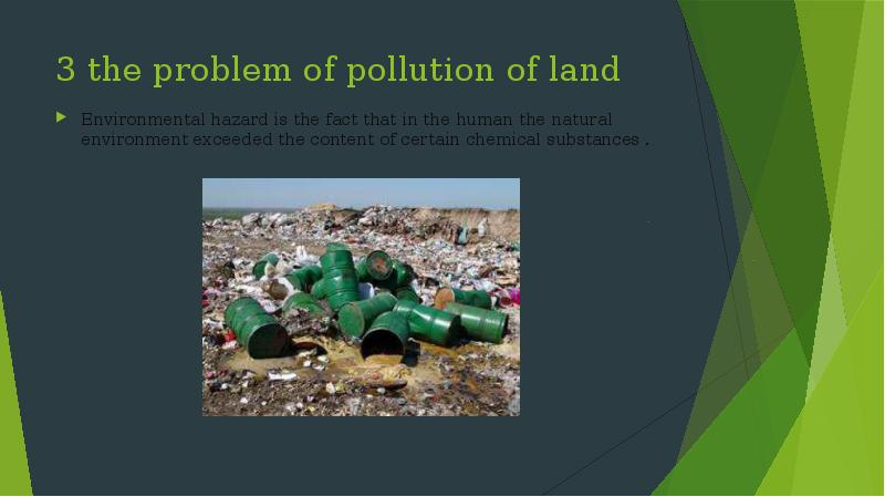 essays on environmental problems