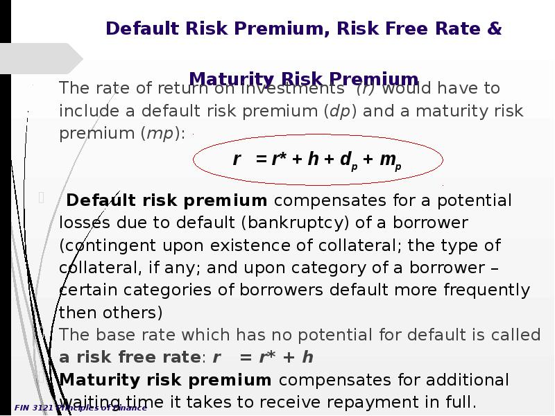 interest and risk free rate What should the risk-free interest rate be that's the question i'll started with central banks, the fed in the us, adjust interest rates to achieve economic goals, but central banks cannot impose interest rate policy without investors willing to buy bonds at the rates set by the central bank.