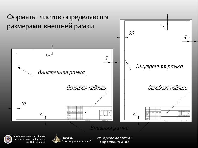 графика формат инженерная