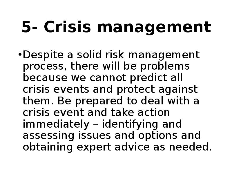 crisis and risk management 45 people interested rated 50 by 1 person check out who is attending exhibiting speaking schedule & agenda reviews timing entry ticket fees 2018 edition of crisis and risk management summit will be held at radisson blu hotel, kuwait, kuwait starting on 26th march.