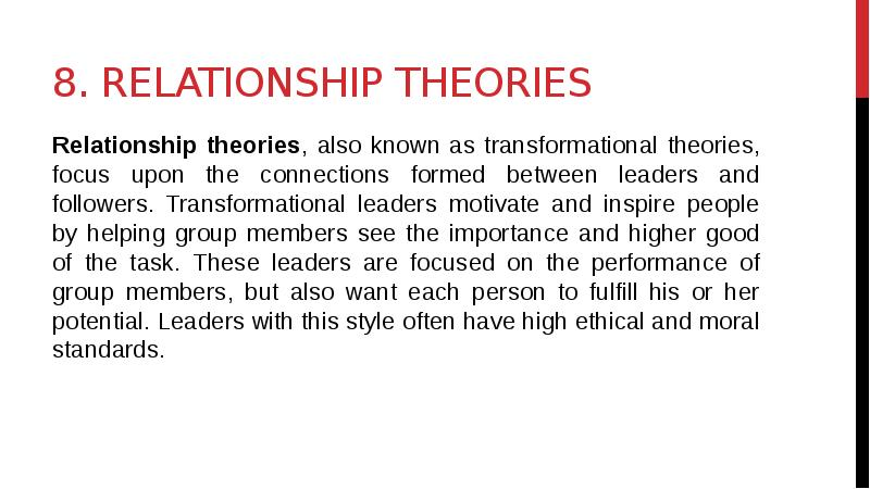 leader follower relationship A relationship based on this kind of power does not serve the organization, the leader or the follower because it shuts down the open flow of communication and candor a leader needs in order to optimize their effectiveness.