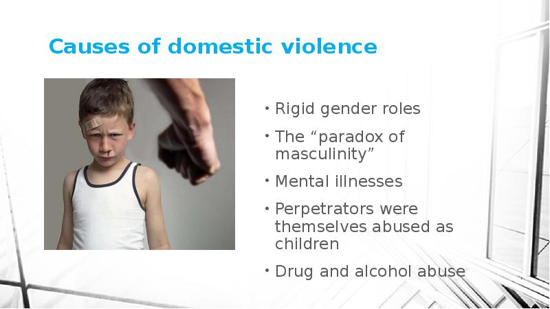 varieties of domestic violence The vpi team at chop compiled information on several different types of violence involving youth domestic violence & child abuse gun violence.