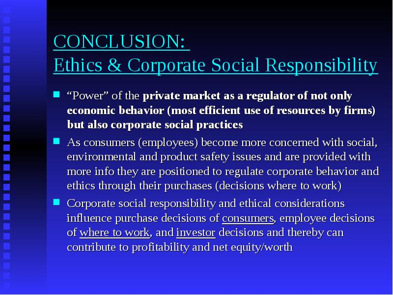 ethical perspective on social responsibility