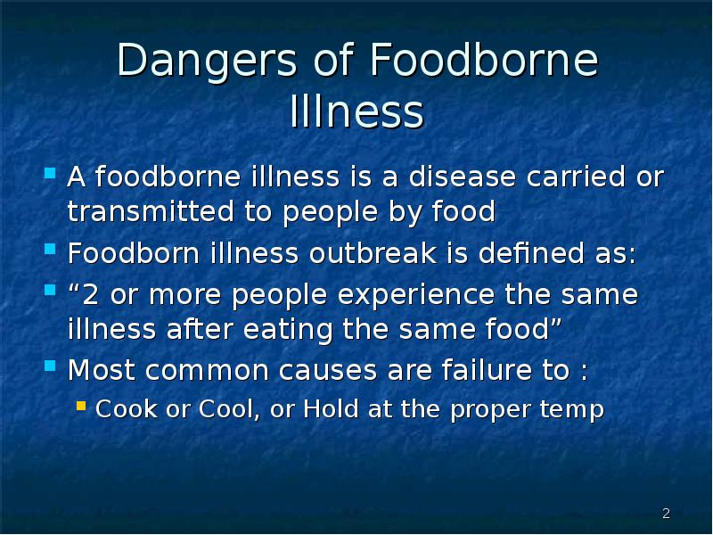 foodborne competition essay And in any process, food safety is an overriding concern on the minds of processors, as the consequences of foodborne illness and/or massive product recalls have affected a wide range of food categories.