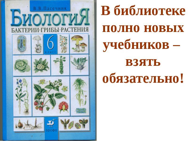 биология пасечник 6 класс дрофа учебник решебник