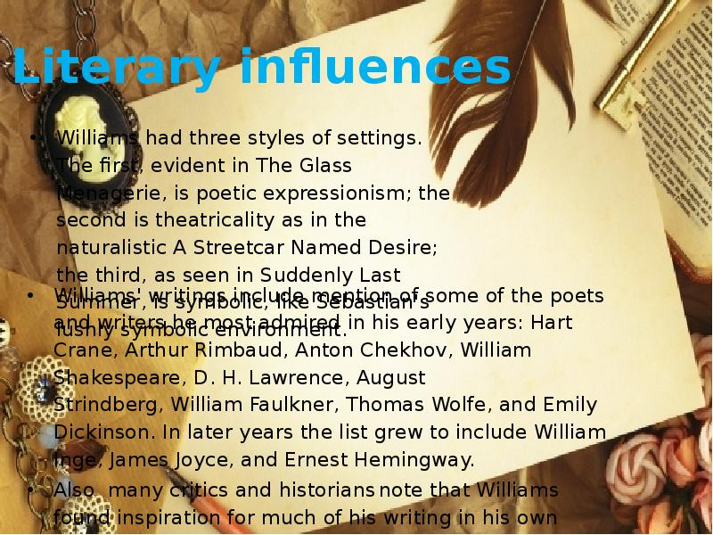 comparing the differences in the endings of a streetcar named desire by tennessee williams and in th A streetcar named desire tennessee williams buy they should understand some of the differences between the another contrast arises in the comparison of.