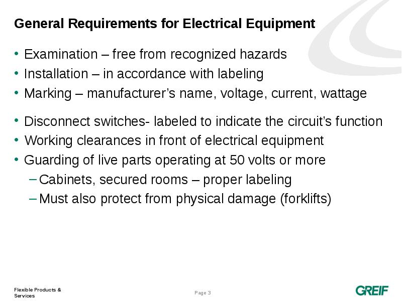 general requirements Cal/osha - title 8 regulations - index.