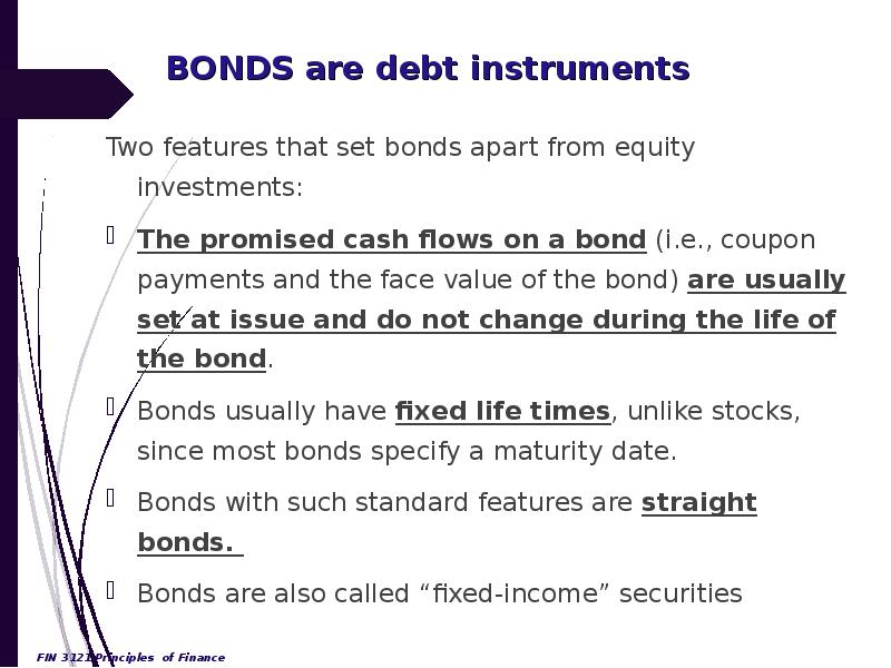 bond and debt instrument