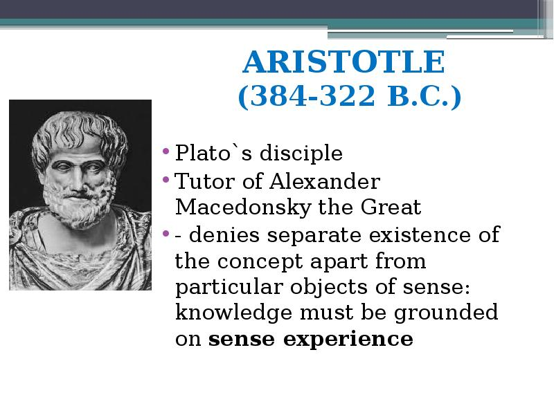 the concepts and philosophies of plato