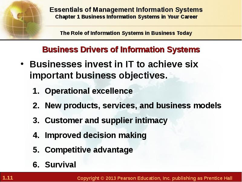 objective of management information system Why computer science management information systems in this section you can learn and practice computer science questions based on management information systems and improve your skills in order to face the interview, competitive examination and various entrance test (cat, gate, gre, mat, bank exam, railway exam etc) with full confidence.