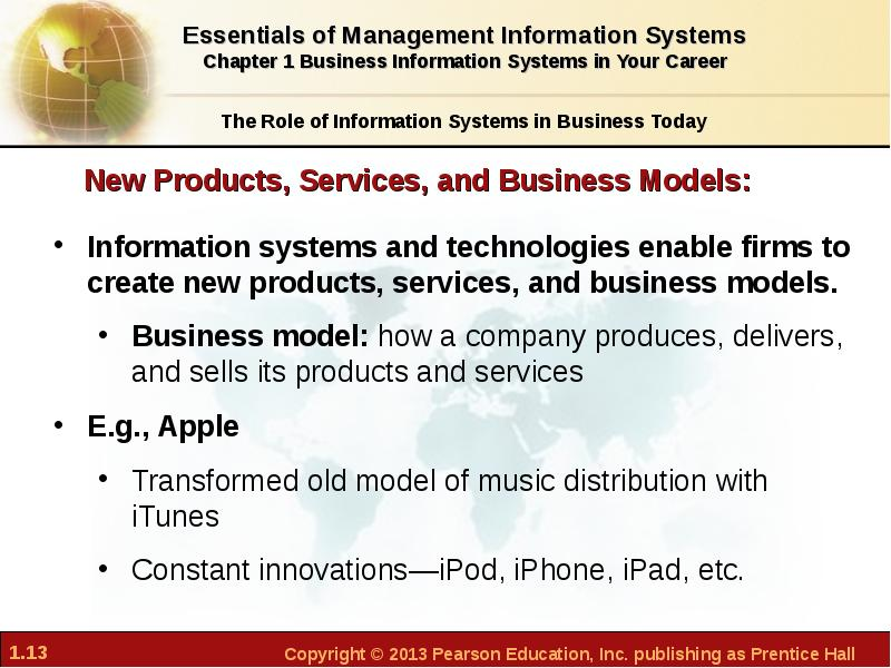 what role do information systems play in digital firms Mission to make digital or paper copy of part or all of these for the role the information system may take rela- five roles of an information system.