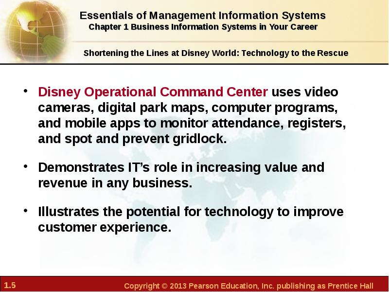 disney information systems