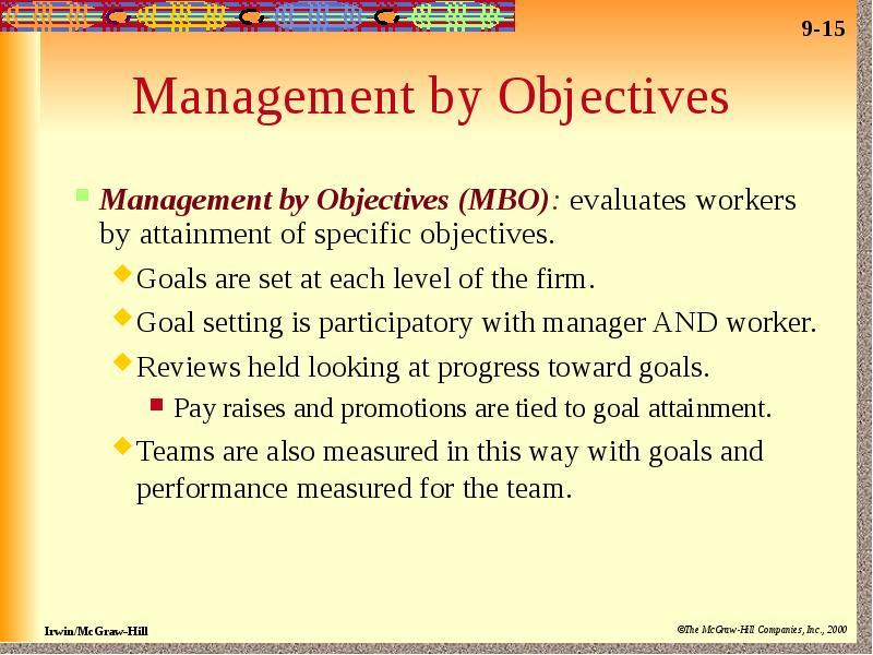 attainment of organizational goals