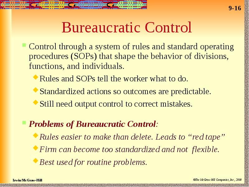 organizational control Broad context for organizational change and development understanding organizations, leadership and management to really understand organizational change and begin guiding successful change efforts, the change agent should have at least a broad understanding of the context of the change effort.
