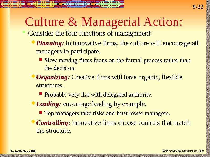 delegation and functions of management 4 basic functions of management process are planning, organizing, leading and controlling that managers perform to achieve business goals we refer to management as a process to emphasize that all managers, irrespective of their aptitude or skill, engage in some inter-related functions in.