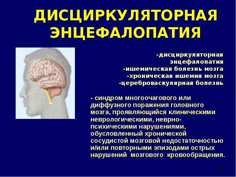 Диффузная энцефалопатия