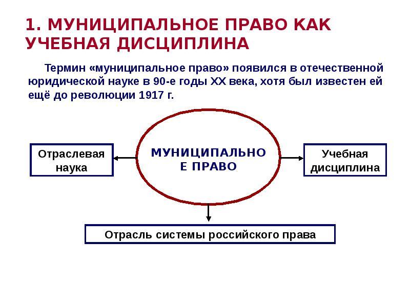Реферат муниципальное право в системе российского права 9709