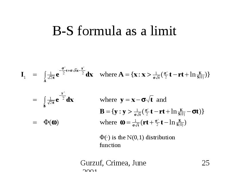 financial evidence for the b s formula Financial math fm/formulas from wikibooks, open books for an open world  financial math fm  : premium/discount formula for the price of a bond − = (−) | ¯ = (−) | ¯  : market price of the bond, ie the price quoted in a financial newspaper.