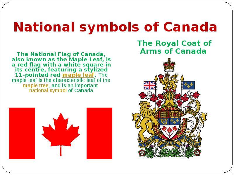 symbols of canada canadaca